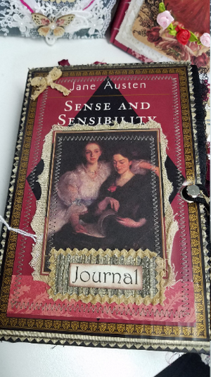 Jane Austen Hardcover Journal