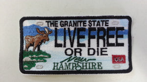 Patches  NH License Plate & other in stock patches