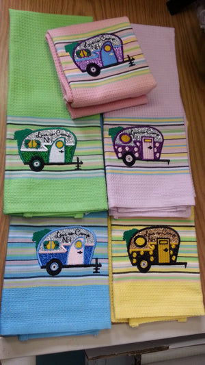 Kitchen Towels Vintage Trailer - Limited Edition