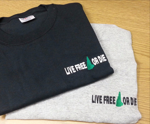 Live Free or Die  Short Sleeve T-Shirt