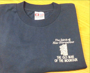 The Old Man of the Mountain short sleeve T-Shirts
