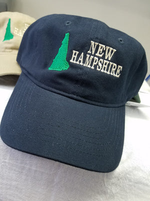 New Hampshire Hats with State