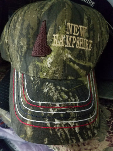 Camouflage NH State  Hats