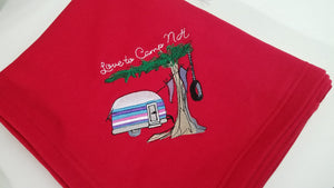 "Vintage Camper 50"" X 60"" Sweatshirt fleece Throw"