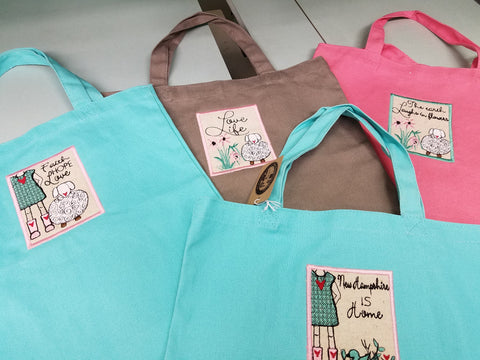 Clearance Sweet Blessings tote bags