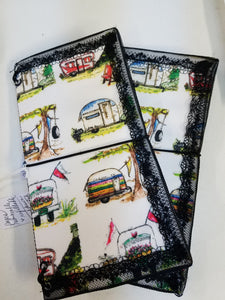Travelers notebook Cover - Vintage Campers