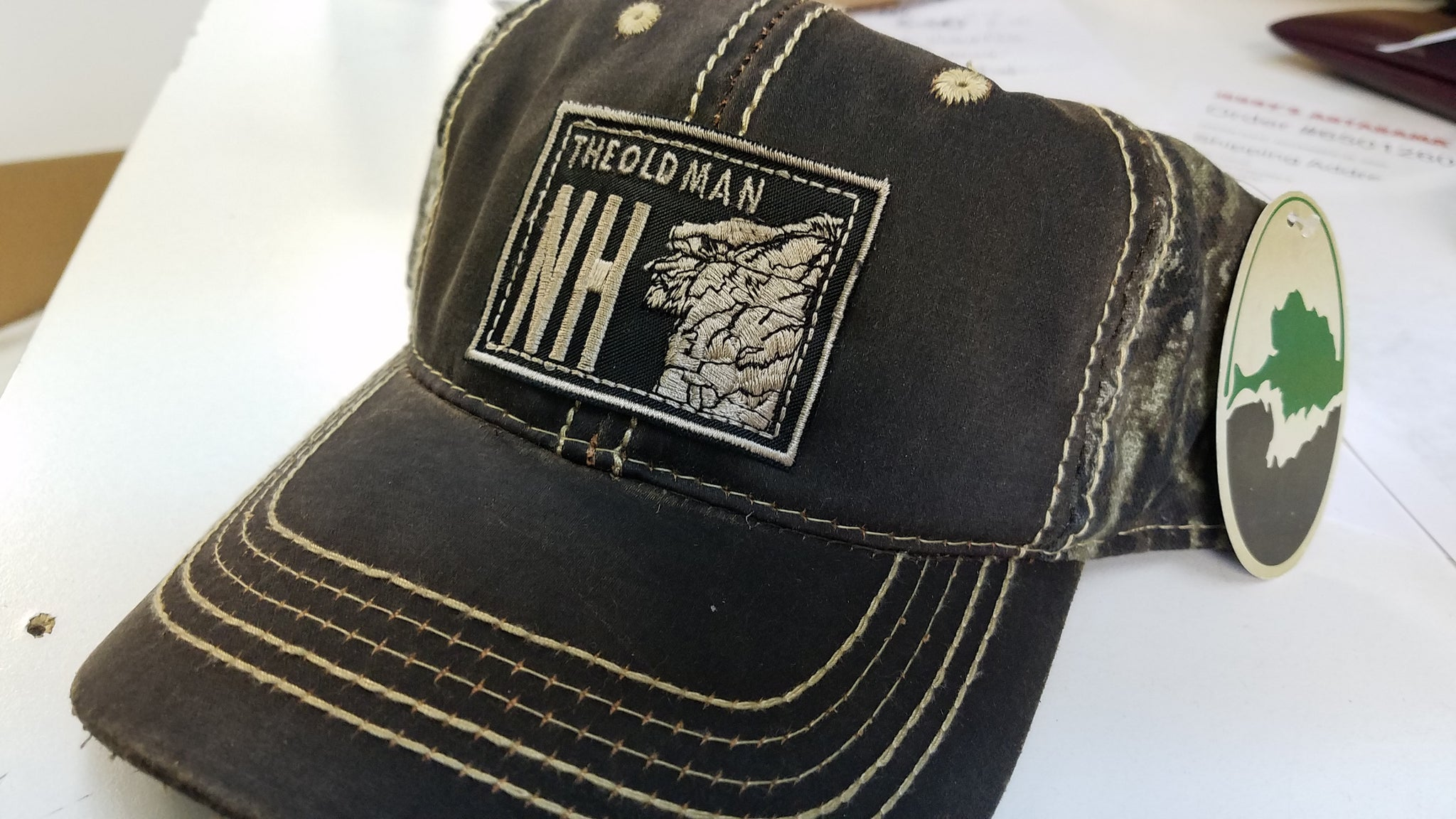 The Old Man NH Patch Hat