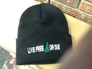 Live Free or Die Knit Hats