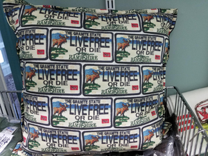 "16"" Live Free or Die Pillow"