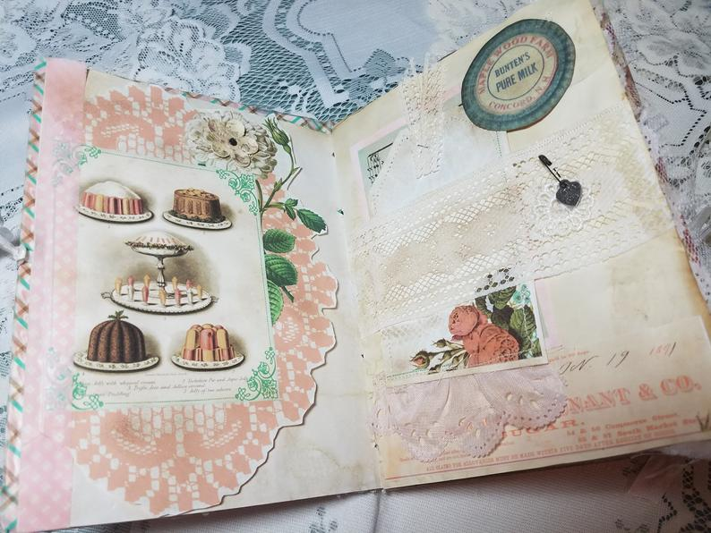 Tea Party Desserts Journal