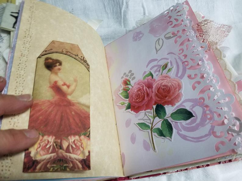 Vintage Dance Hardcover Journal