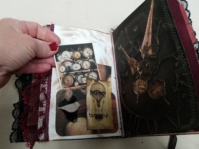 Shadowbox Journal for Antique Collectors