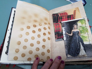 Shadowbox Junk Journal - Plaid & Tartan