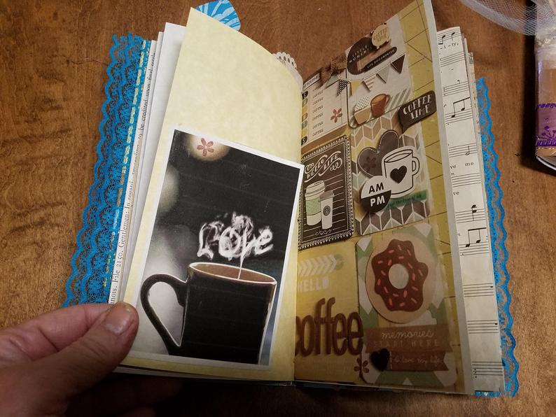 Coffee Bag Travelers Notebooks