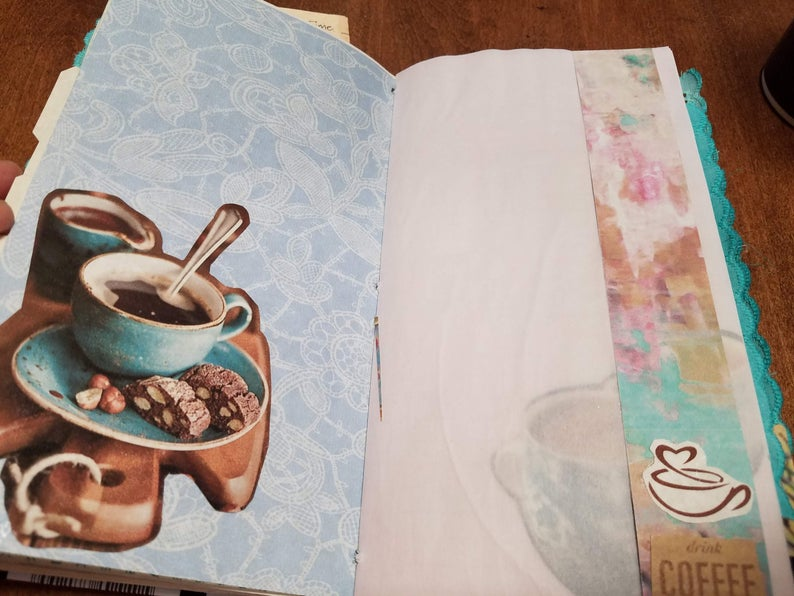 Mocha Malt & Coffee Shop Travelers Notebook Journal