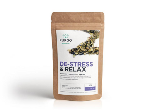 De-Stress Tea Regular - Purgo Tea Canada
