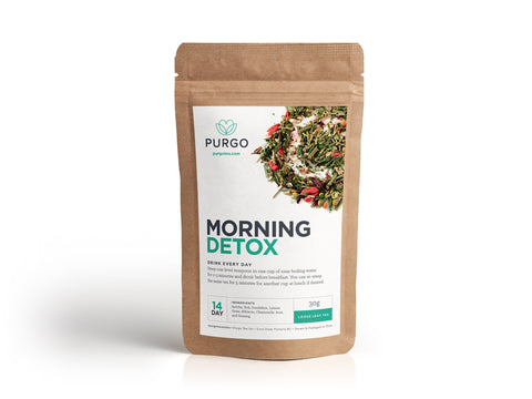 Morning Detox Tea (14 Day) - Purgo Tea Canada
