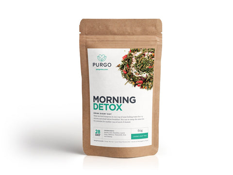 Morning Detox Tea (28 Day) - Purgo Tea Canada