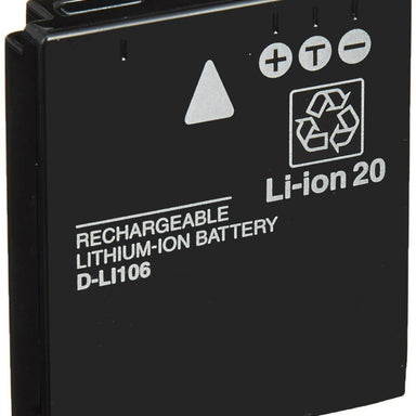 Product image for Compatible Pentax D-LI106 Li-Ion Rechargeable Battery