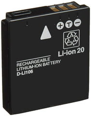 Pentax D-LI106 Li-Ion Rechargeable Battery