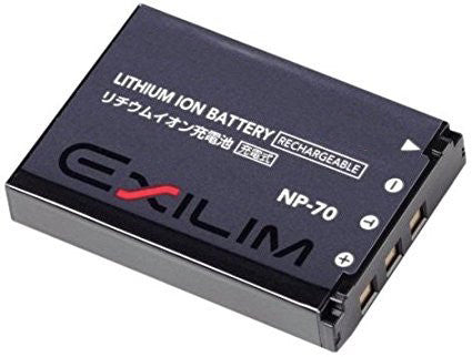 Compatible Casio NP-70 NP-70DBA Li-Ion Rechargeable Battery