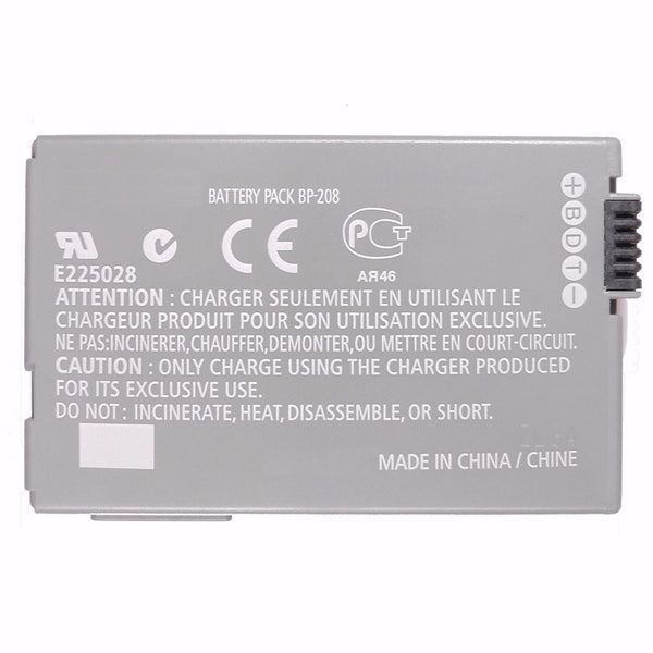 Product image for Compatible Canon BP-208 Li-Ion Rechargeable Battery