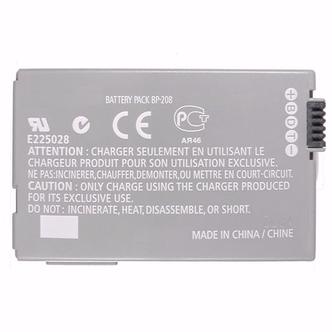 Canon BP-208 Li-Ion Rechargeable Battery