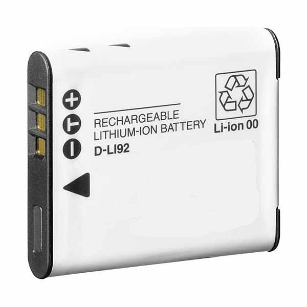 Product image for Compatible Pentax D-LI92 Li-Ion Rechargeable Battery