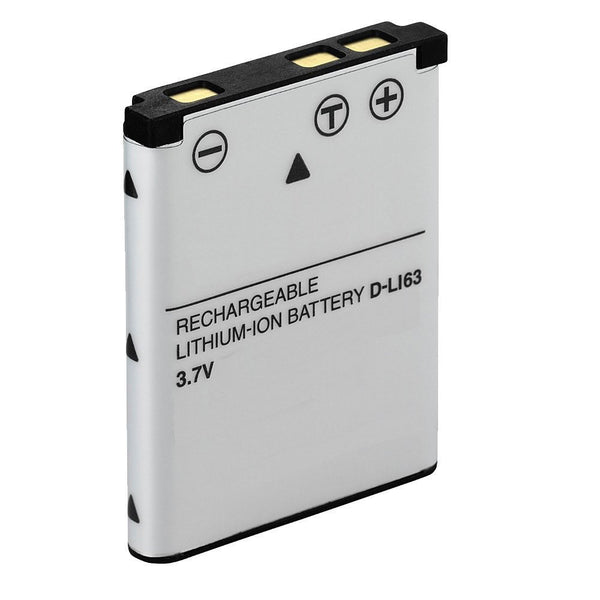 Product image for Compatible Pentax D-LI63 Li-Ion Rechargeable Battery