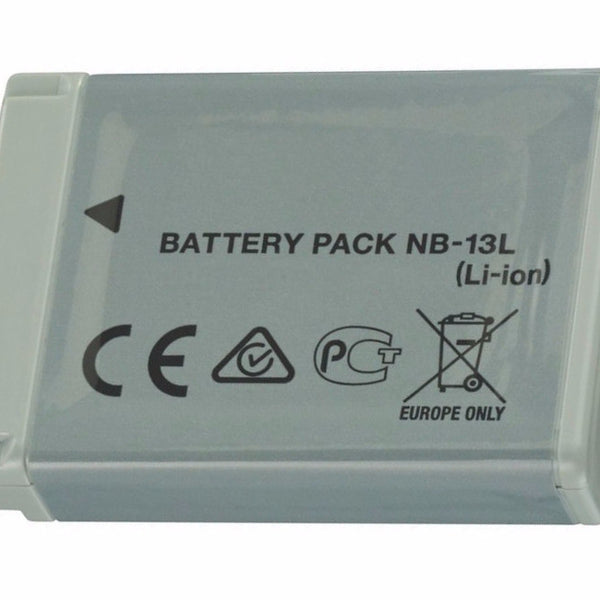 Product image for Compatible Canon NB-13L Li-Ion Rechargeable Battery for PowerShot G7 X