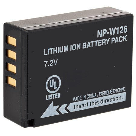 Product image for Compatible Fujifilm NP-W126 Li-Ion Rechargeable Battery