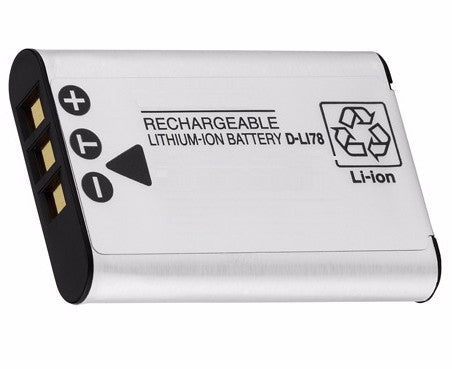 Pentax D-LI78 Li-Ion Rechargeable Battery