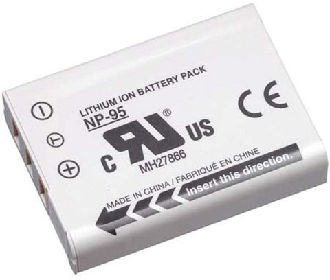 Compatible Fujifilm NP-95 Li-Ion Rechargeable Battery