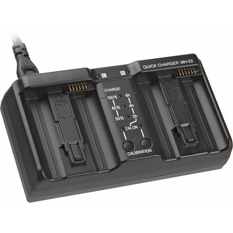 Compatible Nikon MH-22 Dual Charger for EN-EL4 or EN-EL4A Batteries