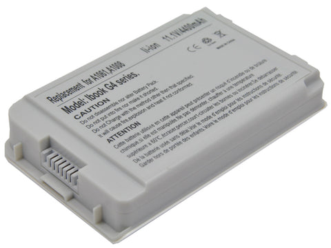 Apple A1008 A1061 661-2472 M8403 M9337G/A Li-Ion Replacement Battery for iBook Notebooks