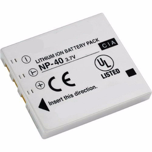 Product image for Compatible Fujifilm NP-40 NP-40N NP-40ND Li-Ion Rechargeable Battery