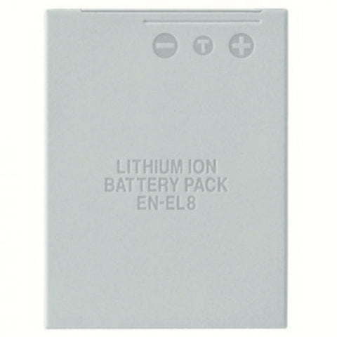 Compatible Nikon EN-EL8 Rechargeable Li-Ion Battery