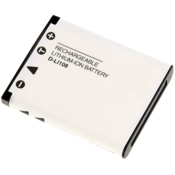 Product image for Compatible Pentax D-LI108 Li-Ion Rechargeable Battery