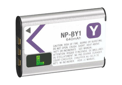 Sony NP-BY1 Rechargeable Li-Ion Battery