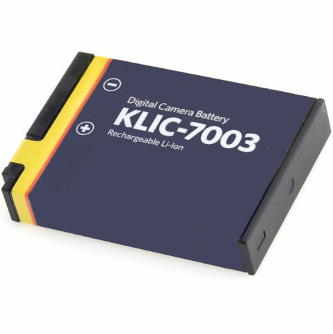 Kodak KLIC-7003 Li-Ion Rechargeable Battery