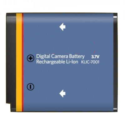 Product image for Compatible Kodak KLIC-7001 Li-Ion Rechargeable Battery