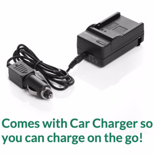Product image for Compatible Pentax K-BC2U D-BC2 D-BC2A Charger for D-LI2 Battery