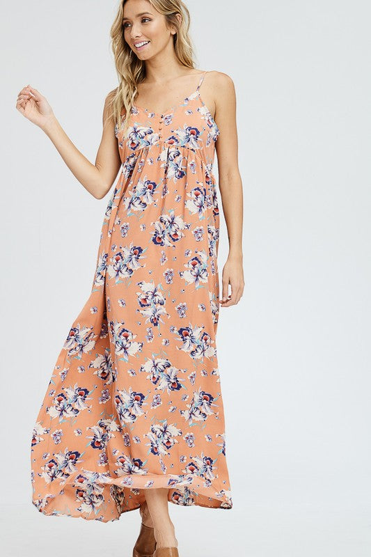 Lily Floral Print Maxi Dress-[product_description]-[product_tag]-Stella B. Clothing