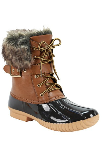 Faux Fur Duck Boot-[product_description]-[product_tag]-Stella B. Clothing