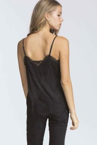 Own the Night Lace Cami | Black-[product_description]-[product_tag]-Stella B. Clothing