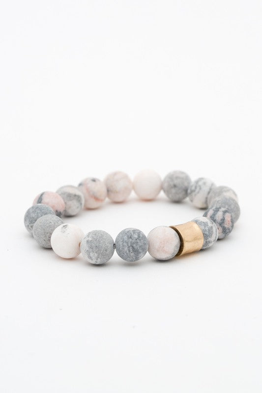 Rocky Bead Stretch Bracelets-[product_description]-[product_tag]-Stella B. Clothing