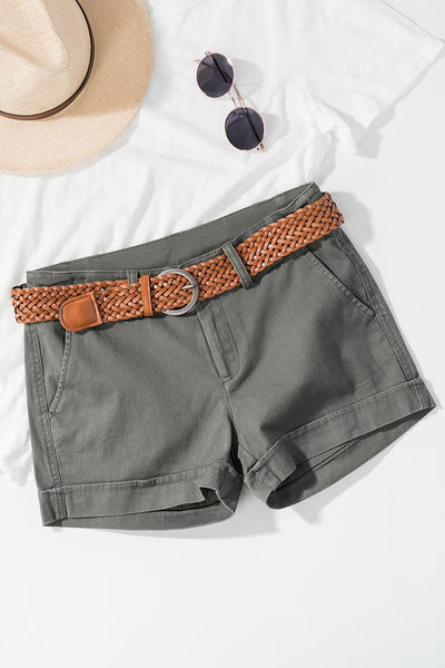 Cotton Twill Shorts-[product_description]-[product_tag]-Stella B. Clothing