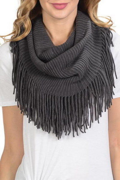 Fringe Infinity Scarf-[product_description]-[product_tag]-Stella B. Clothing