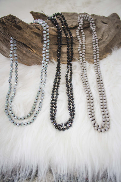 Crystal Bead Wrap Necklace -DOORBUSTER-[product_description]-[product_tag]-Stella B. Clothing