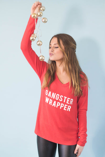 Gangster Wrapper Brushed Knit Top-[product_description]-[product_tag]-Stella B. Clothing
